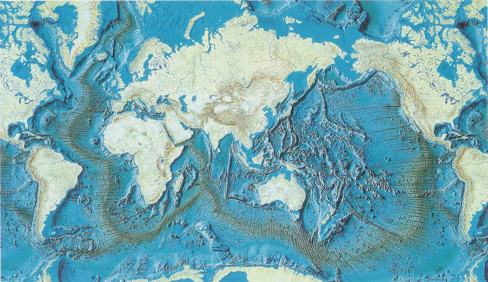 Convergence et arcs insulaires svt monde for Les fonds des photos
